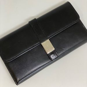 KENNETH COLE REACTION💥NWT💥BLACK WOMENS WALLET